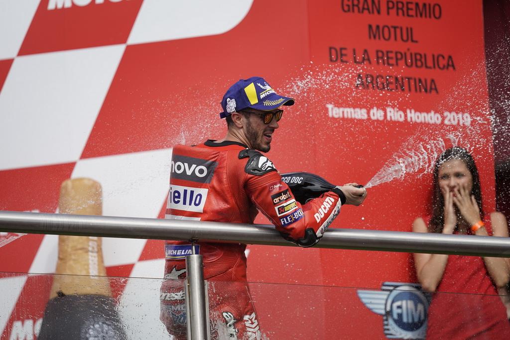 Βάθρο για Ducati και Ντοβιτσιόζο στην Αργεντινή | to10.gr
