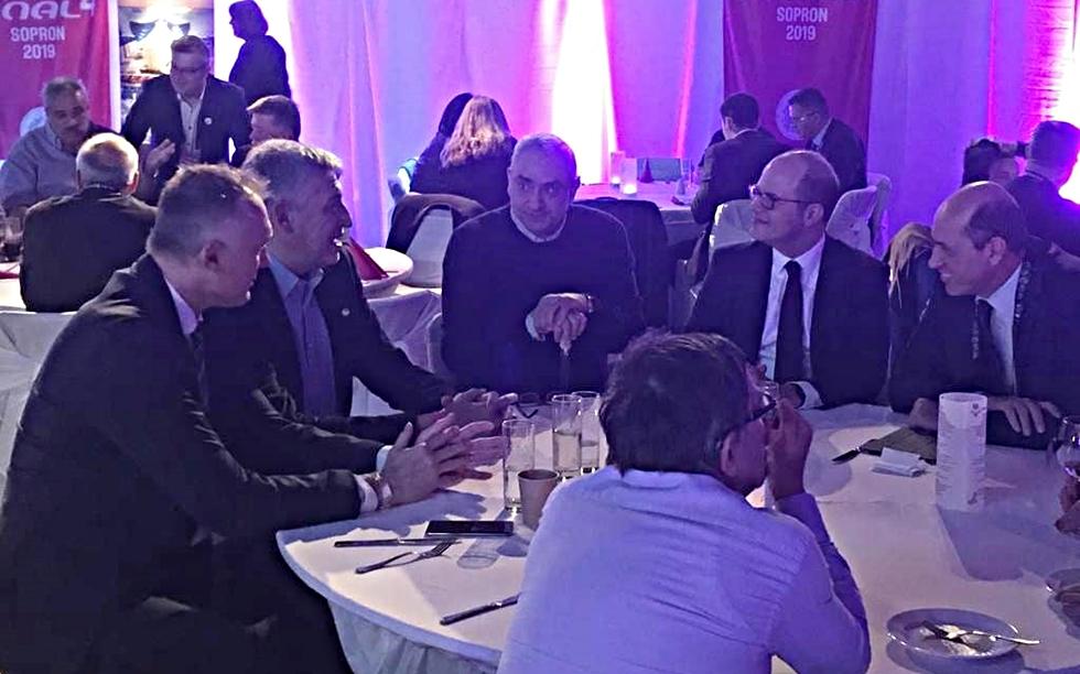 Συνάντηση Λεριώτη, Φασούλα με Ζαγκλή, Ντεμιρέλ και Νόβακ | to10.gr