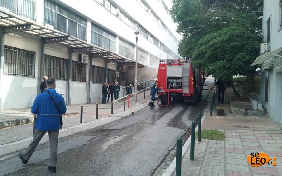 Φωτιά στο ΑΠΘ -Μια φοιτήτρια στο νοσοκομείο | to10.gr
