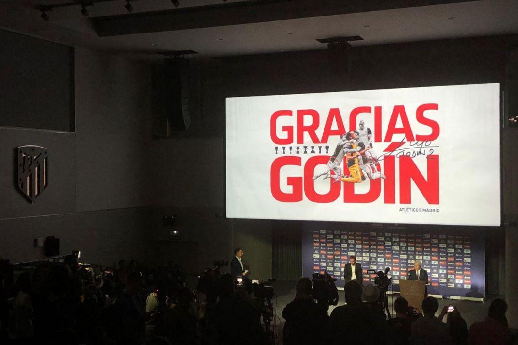 Ανακοίνωσε την αποχώρηση του από την Ατλέτικο ο Γοδίν | to10.gr