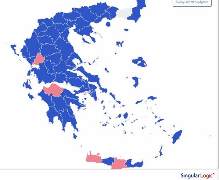Ευρωεκλογές 2019 : Στο 9,43% η διαφορά ΝΔ-ΣΥΡΙΖΑ με την ενσωμάτωση στο 33,77% | to10.gr