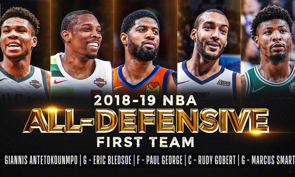 Στην καλύτερη αμυντική 5άδα του NBA ο Αντετοκούνμπο (pic) | to10.gr