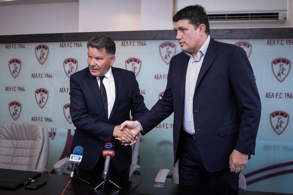 Πέτριτς: «Τελικός Κυπέλλου και έξοδος στην Ευρώπη οι στόχοι της ΑΕΛ» | to10.gr