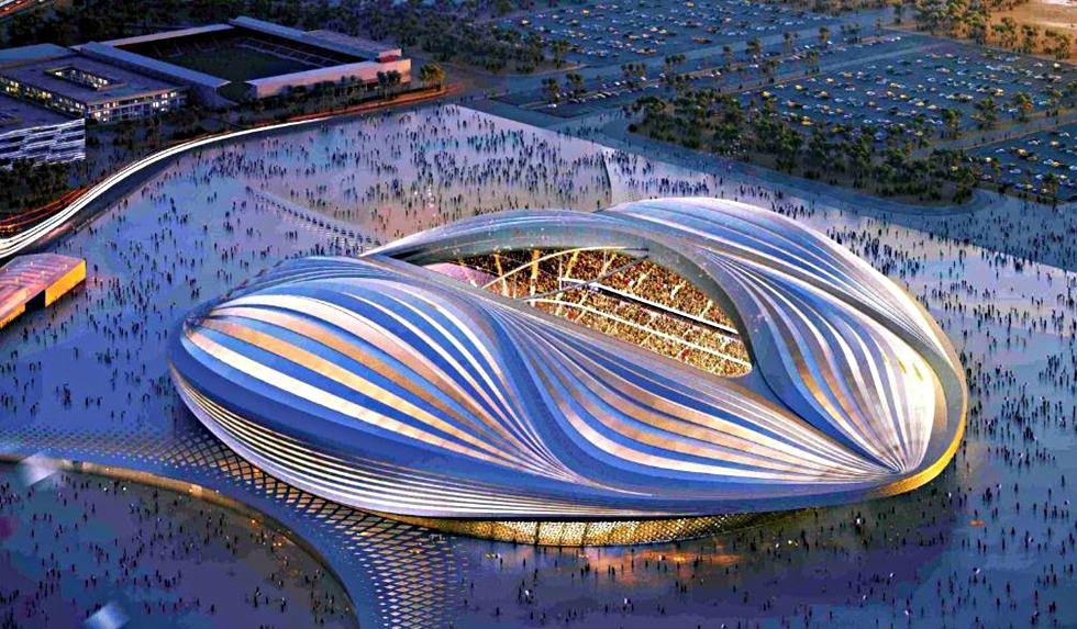 Al-Wakrah Stadium: Το Κατάρ υπόσχεται ένα άκρως εντυπωσιακό Μουντιάλ (vid) | to10.gr