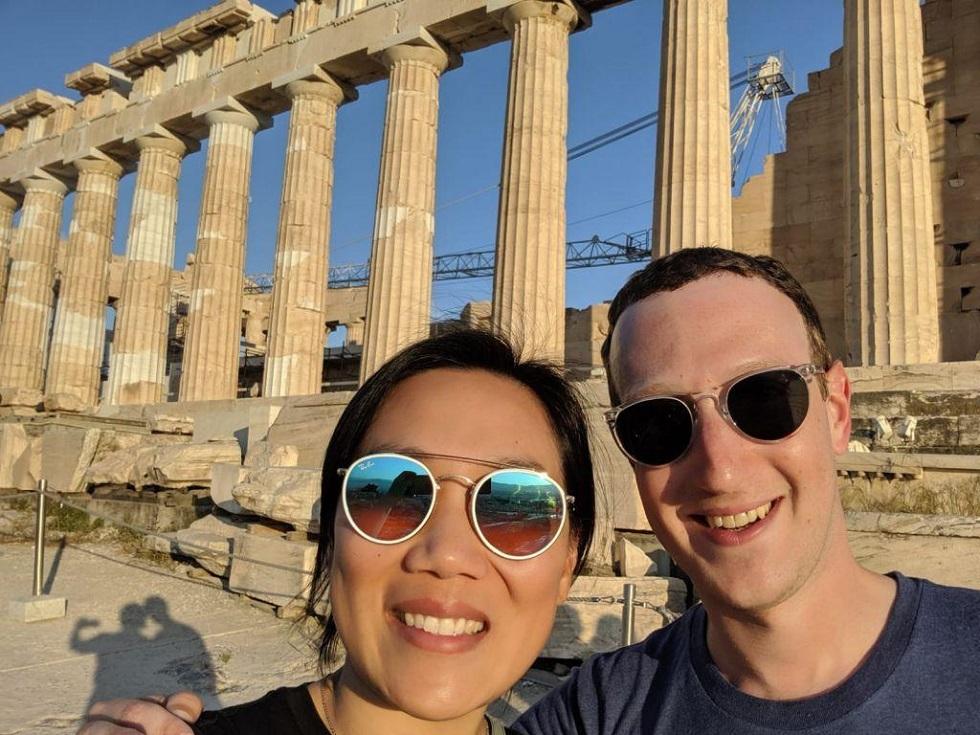 Η selfie του Μαρκ Ζούκερμπεργκ στην Ακρόπολη | to10.gr
