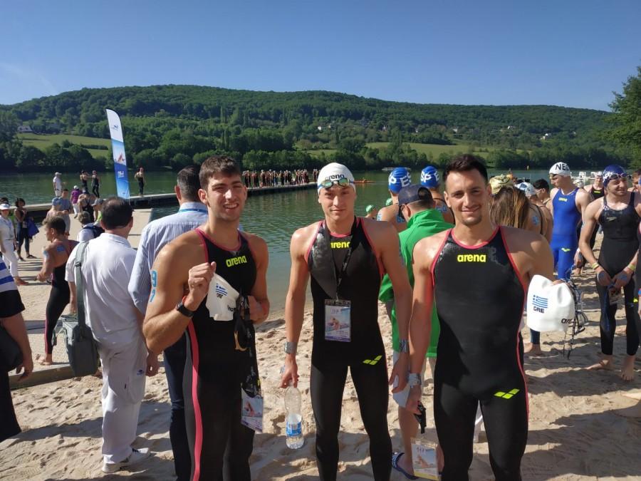 Ευρωπαϊκό Κύπελλο κολύμβσης: Ασημένιο μετάλλιο για τον Αθανάσιο Κυνηγάκη | to10.gr