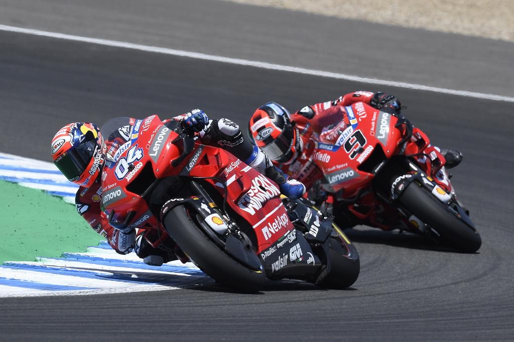 Τέταρτη και πέμπτη θέση για την Ducati στη Χερέθ | to10.gr