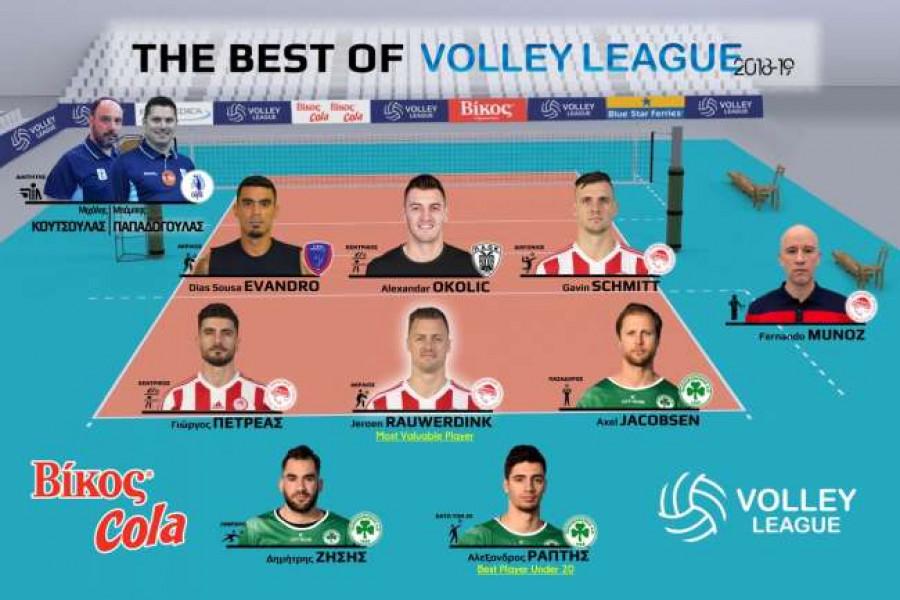 Η dream team της Volley League 2018-19 | to10.gr