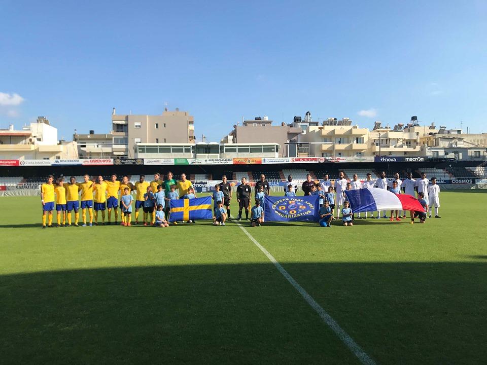 Ολοκληρώθηκε η τρίτη ημέρα του Πρωταθλήματος Ποδοσφαίρου Κωφών | to10.gr