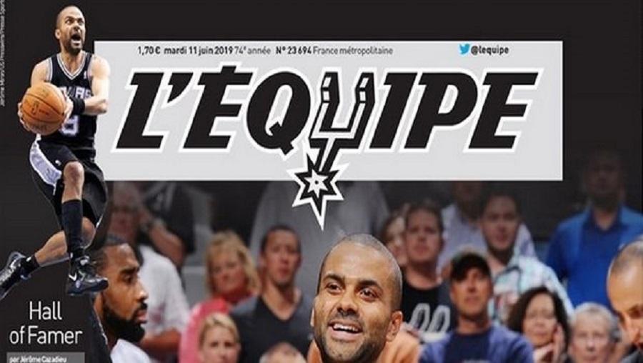 «Υπόκλιση» της Equipe στον Τόνι Πάρκερ (pic) | to10.gr