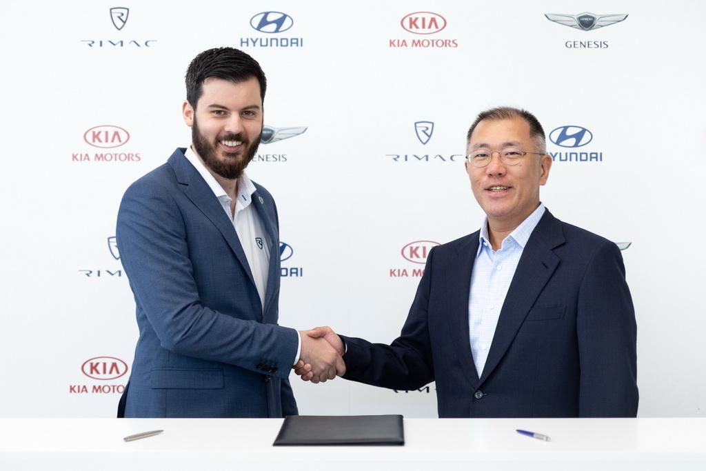 Συνεργασία Hyundai Motor Group και Rimac | to10.gr