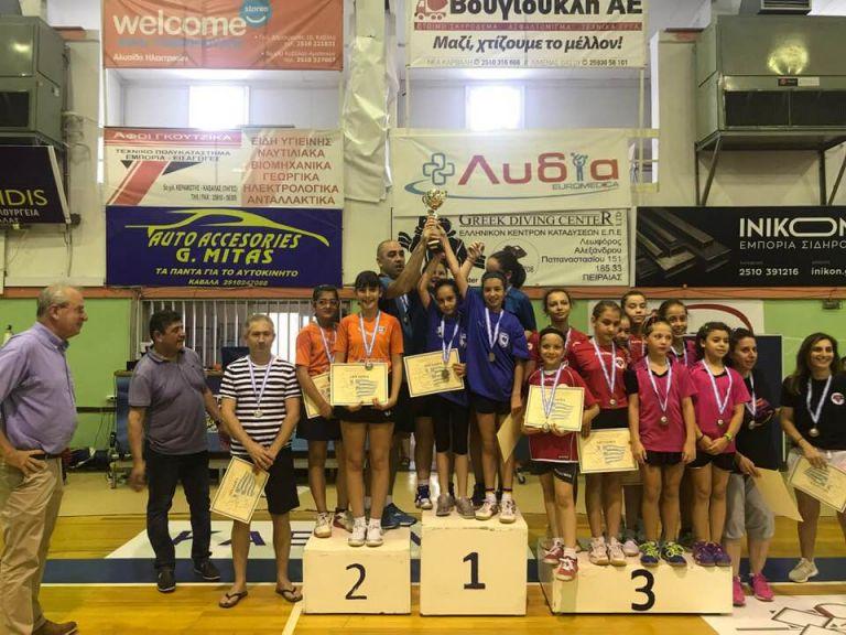 Κυρίαρχη η Περιφέρεια, η Φιλία Ορεστιάδας στους παμπαίδες και η Καβάλα στις παγκορασίδες πρωταθλητές Ελλάδας | to10.gr