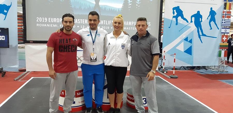 Μετάλλια και παγκόσμια ρεκόρ από τους Ελληνες στο Ευρωπαϊκό πρωτάθλημα Masters | to10.gr
