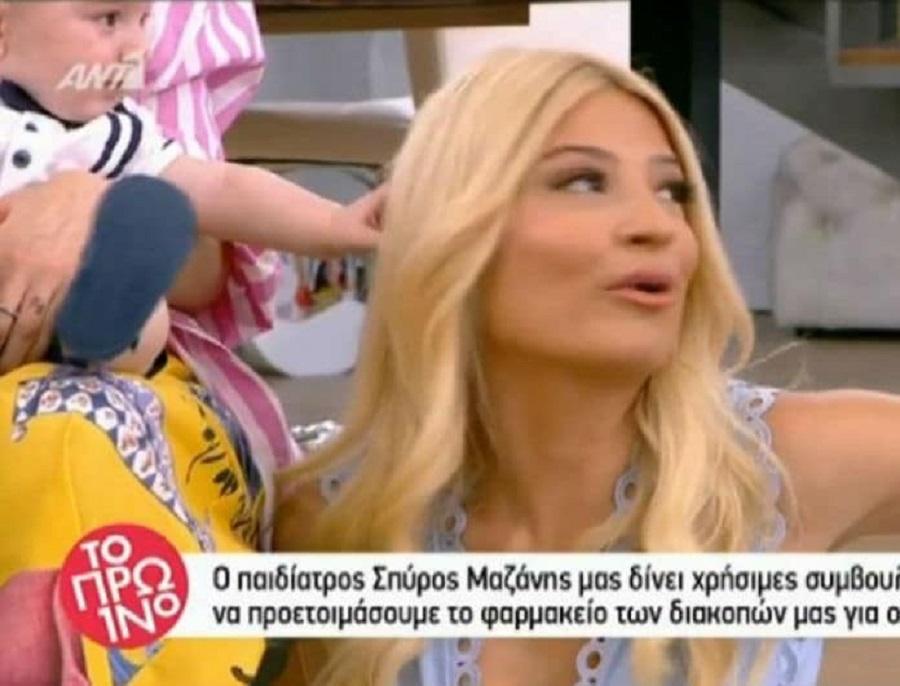 Φαίη Σκορδά: Αδιανόητο ατύχημα on air (vid) | to10.gr
