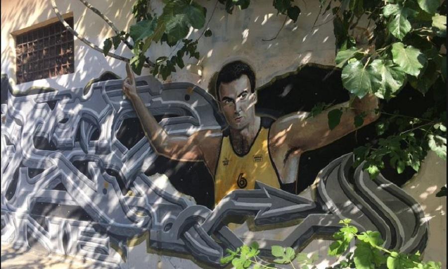 Ανακοίνωση του ΠΣΑΚ για τη βεβήλωση του γκράφιτι του Γκάλη (pic)   to10.gr