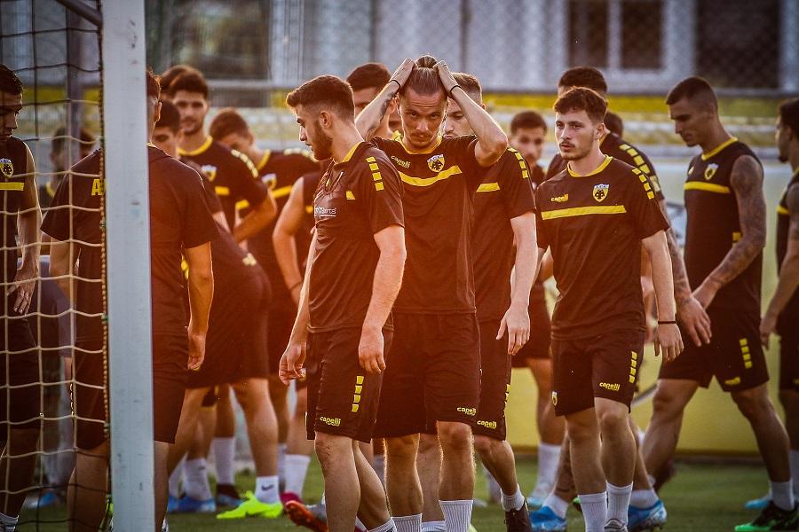 Στιγμές από την τελευταία προπόνηση της ΑΕΚ πριν την Κραϊόβα (pics) | to10.gr