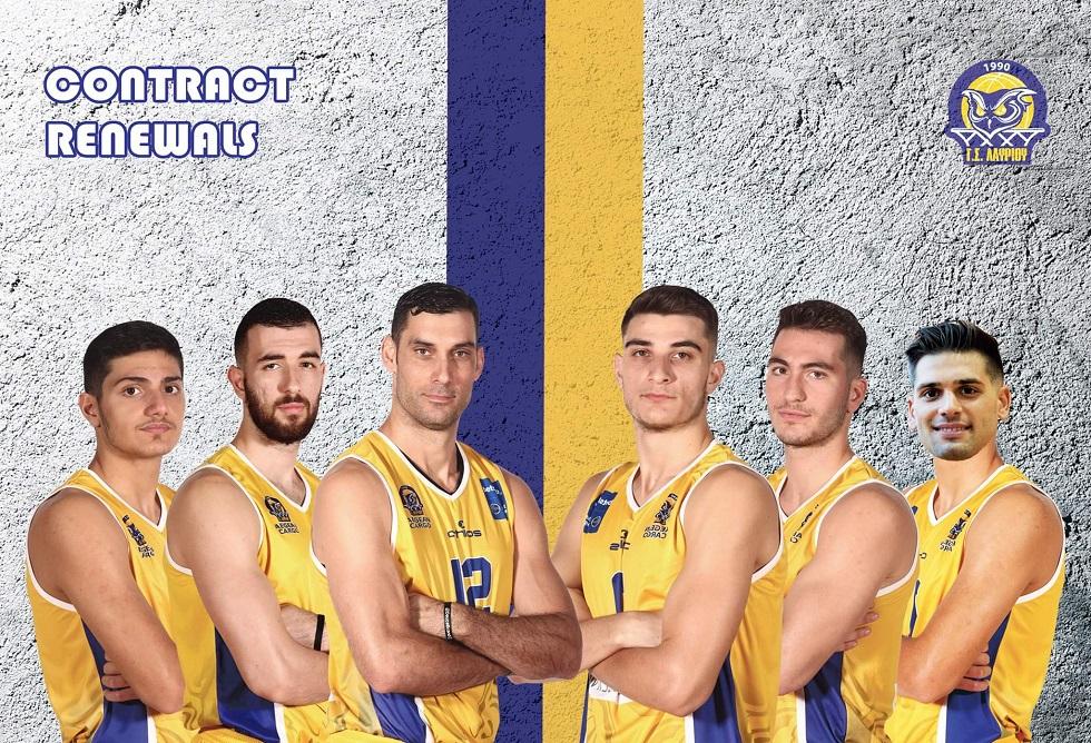 Μαζική ανανέωση έξι Ελλήνων παικτών στο Λαύριο (pic) | to10.gr