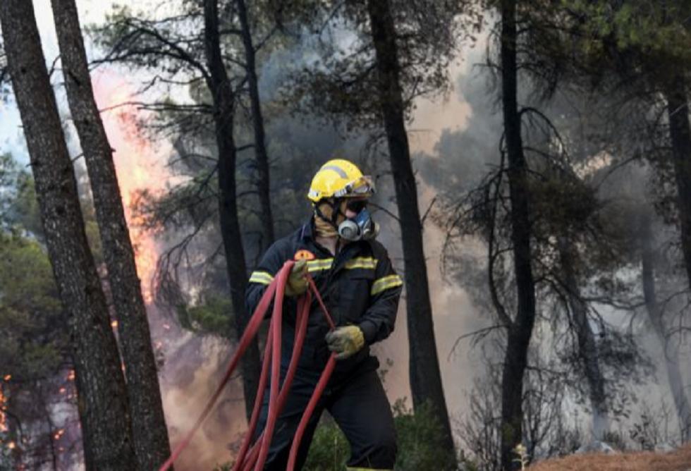 One Channel: Τραυματισμός εθελοντή πυροσβέστη στην Εύβοια (vid) | to10.gr