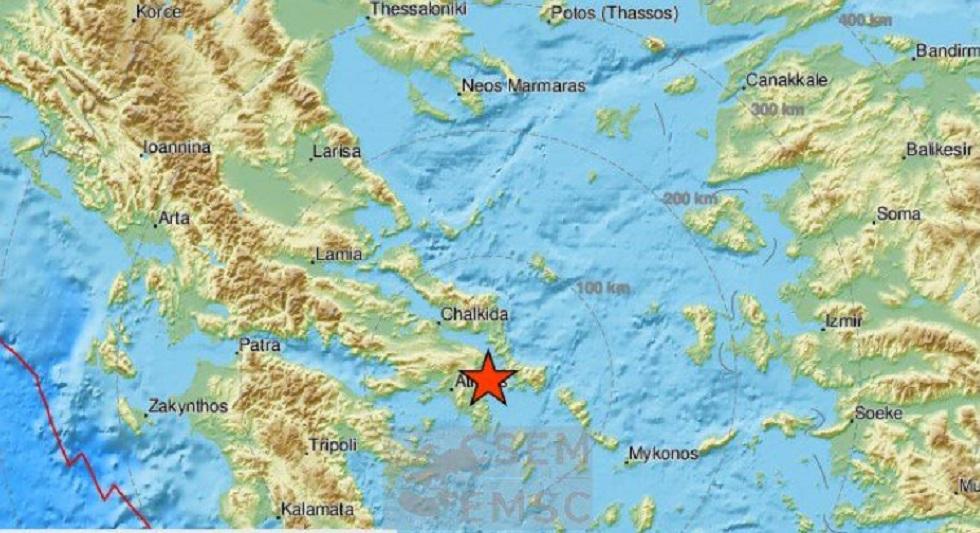 Σεισμός 3,6 Ρίχτερ στον Ευβοϊκό – Ταρακουνήθηκε η Αθήνα   to10.gr