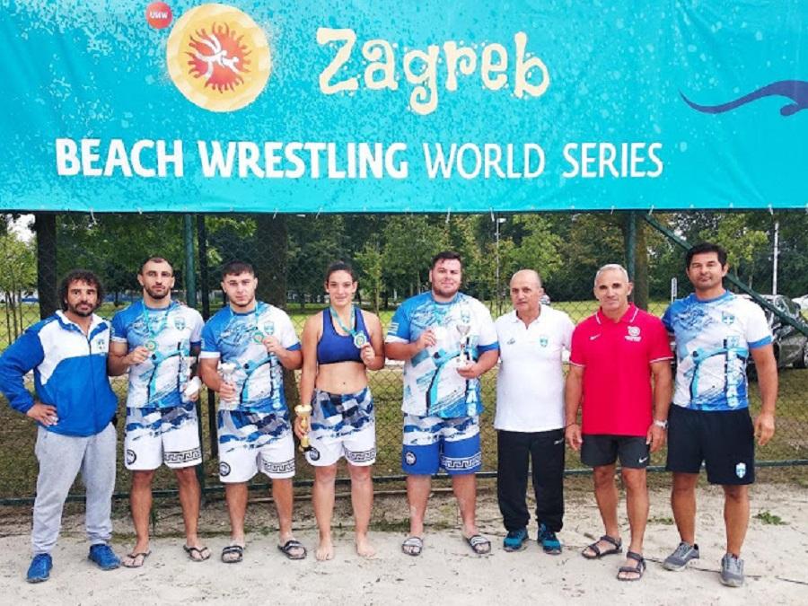 Παγκόσμια πρωταθλήτρια η Ελλάδα στο Beach Wrestling | to10.gr