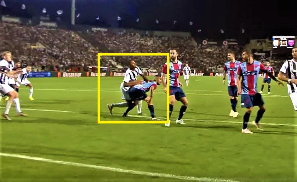 Αρχισαν τα όργανα και με PAOK TV: Επιθετικό φάουλ του Ακπομ στον Ευαγγέλου το 2ο γκολ του ΠΑΟΚ (vids) | to10.gr