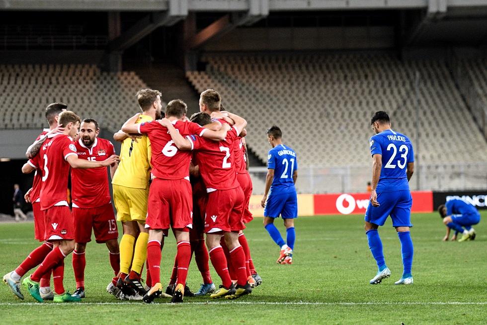 Έντονη γιούχα για την Εθνική στο τέλος του αγώνα! | to10.gr