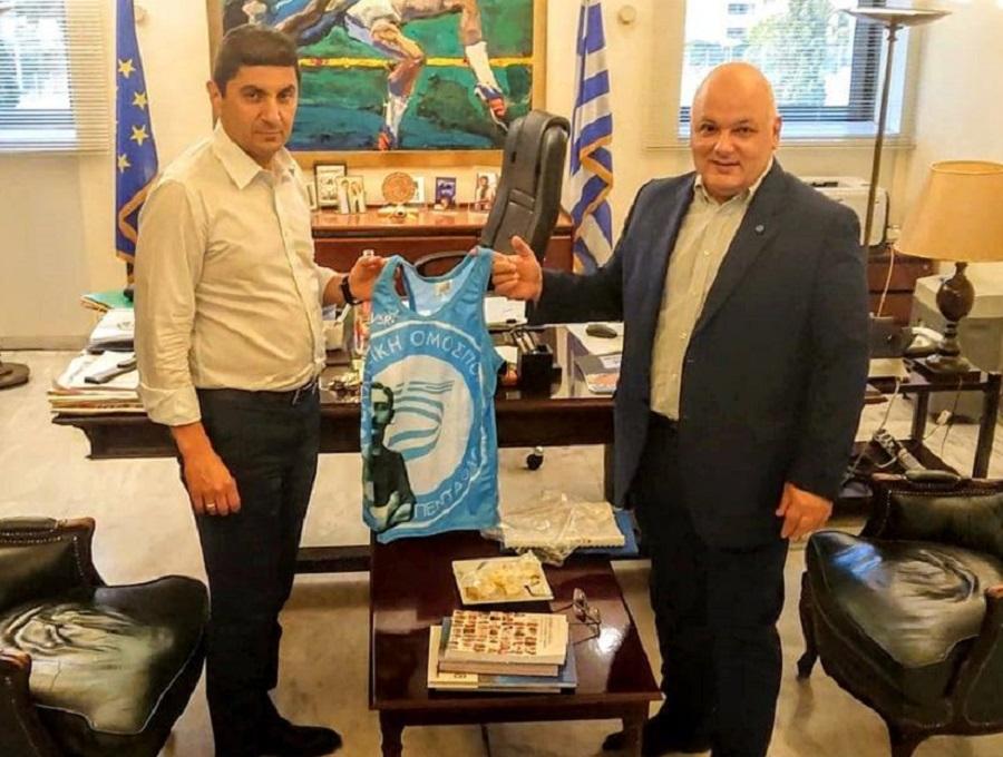 Μοντέρνο Πένταθλο: Συνάντηση με τον υφυπουργό Λευτέρη Αυγενάκη είχε ο Τάσος Πανταζίδης | to10.gr
