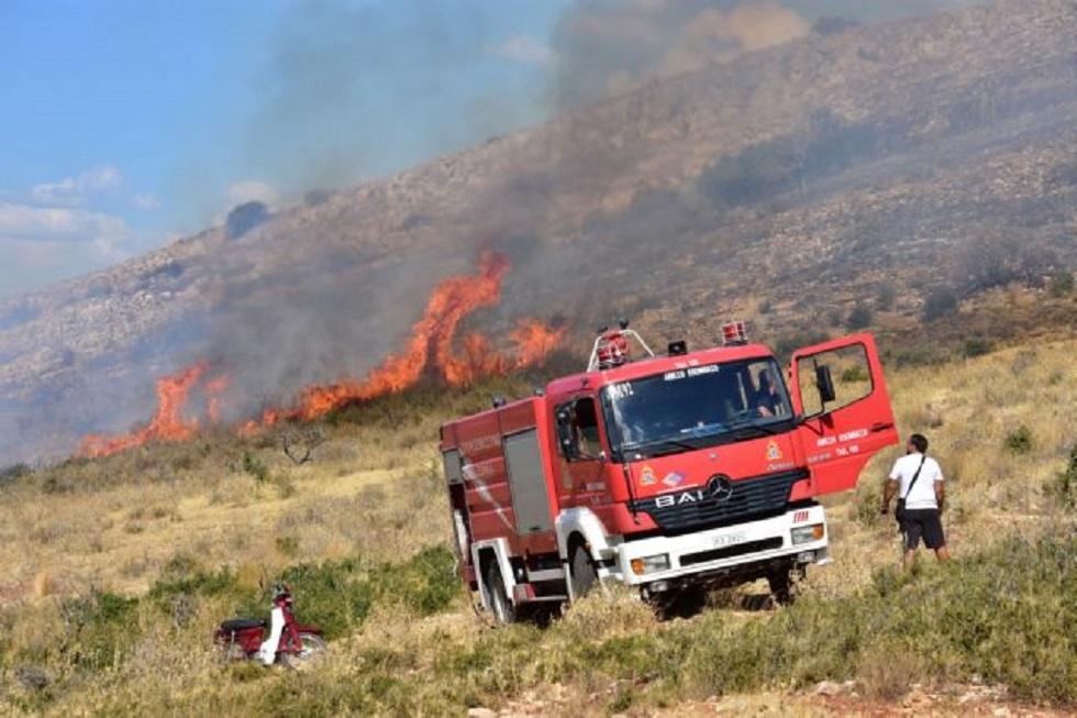 Φωτιά στη Ζάκυνθο -Καίει δασική έκταση (pic+vid) | to10.gr