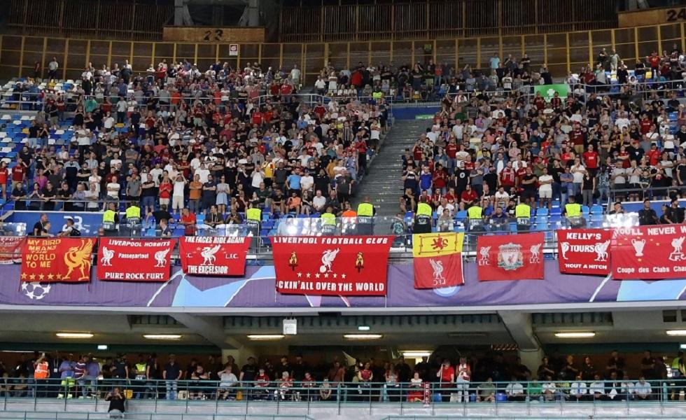 Champions League: Στο νοσοκομείο οπαδός της Λίβερπουλ από επίθεση οπαδών της Νάπολι | to10.gr