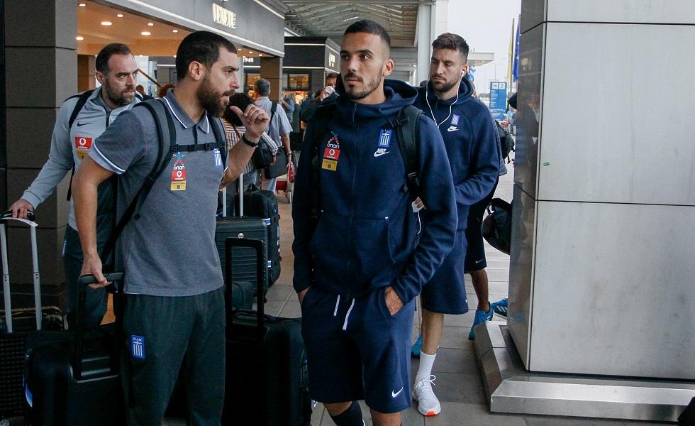 «Πέταξε» για Ιταλία η Εθνική Ελλάδας (pics) | to10.gr