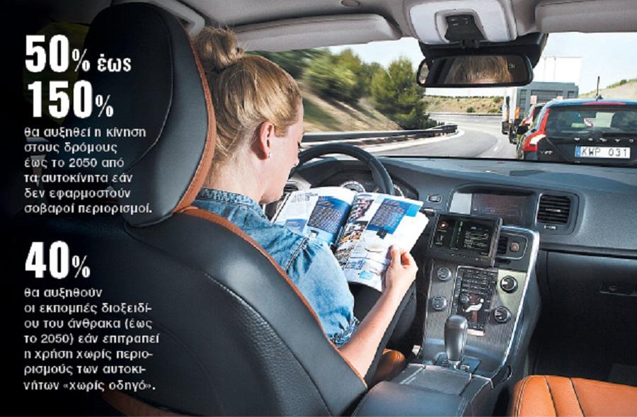 Μελέτη – σοκ για τα αυτοκίνητα χωρίς οδηγό   to10.gr