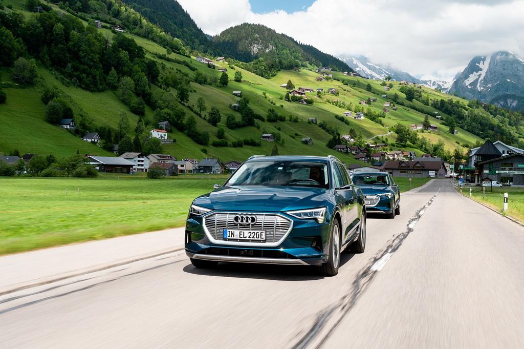 Audi e-tron: 10 χώρες σε 24 ώρες | to10.gr