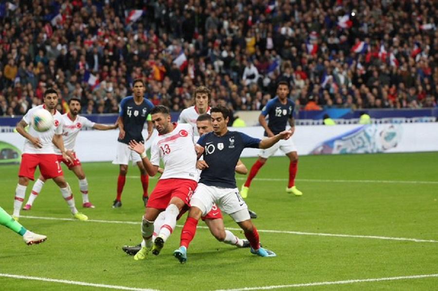 Γαλλία- Τουρκία 1-1   to10.gr