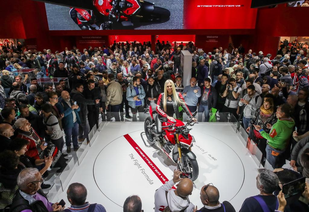 Μια Ducati, «η πιο όμορφη μοτοσικλέτα» στην EICMA 2019 | to10.gr