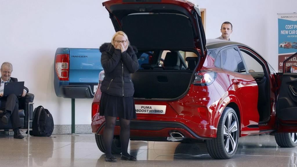 Το MegaBox του νέου Ford Puma φιλοξένησε ένα… φάντασμα | to10.gr