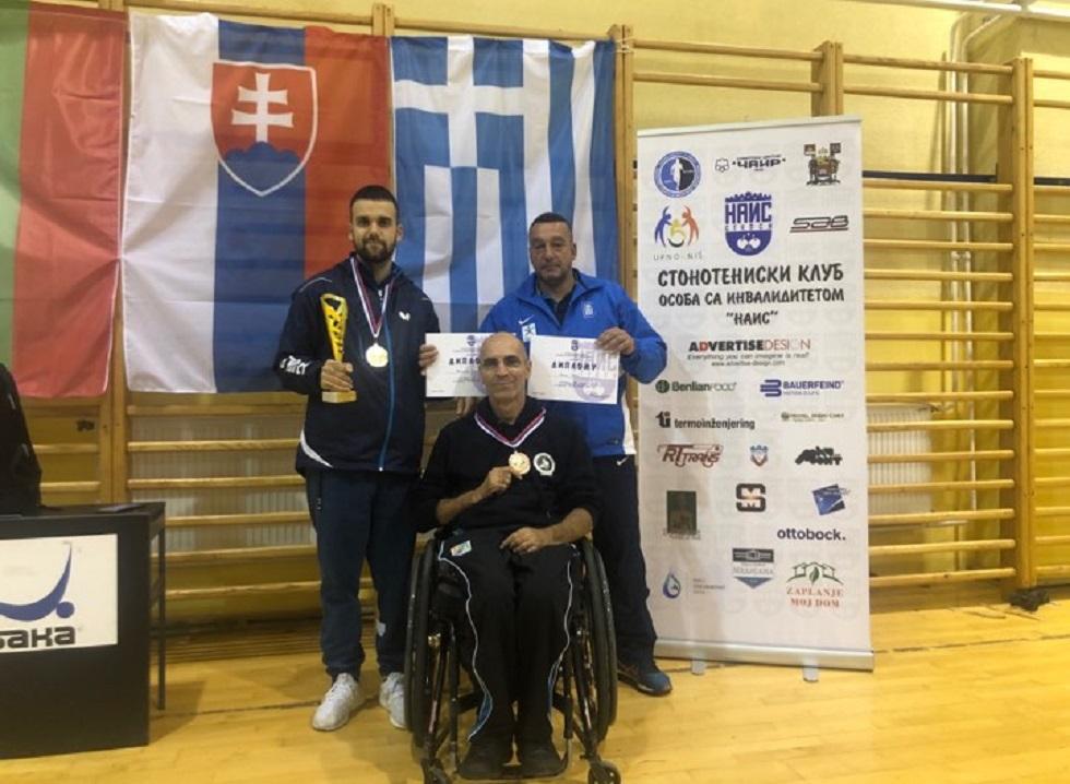 Χρυσό μετάλλιο στο απλό ο Μουχθής στη Σερβία, χάλκινο ο Στάμου | to10.gr