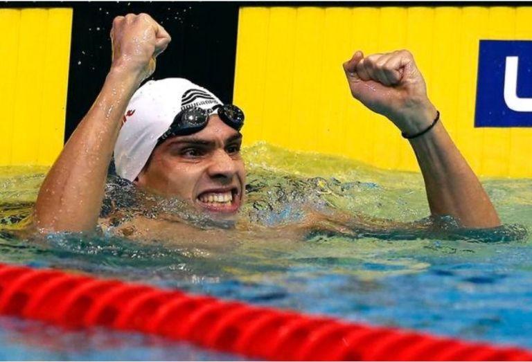 Χάλκινο μετάλλιο στα 100 μέτρα μικτής ατομικής ο Βαζαίος (pic)   to10.gr
