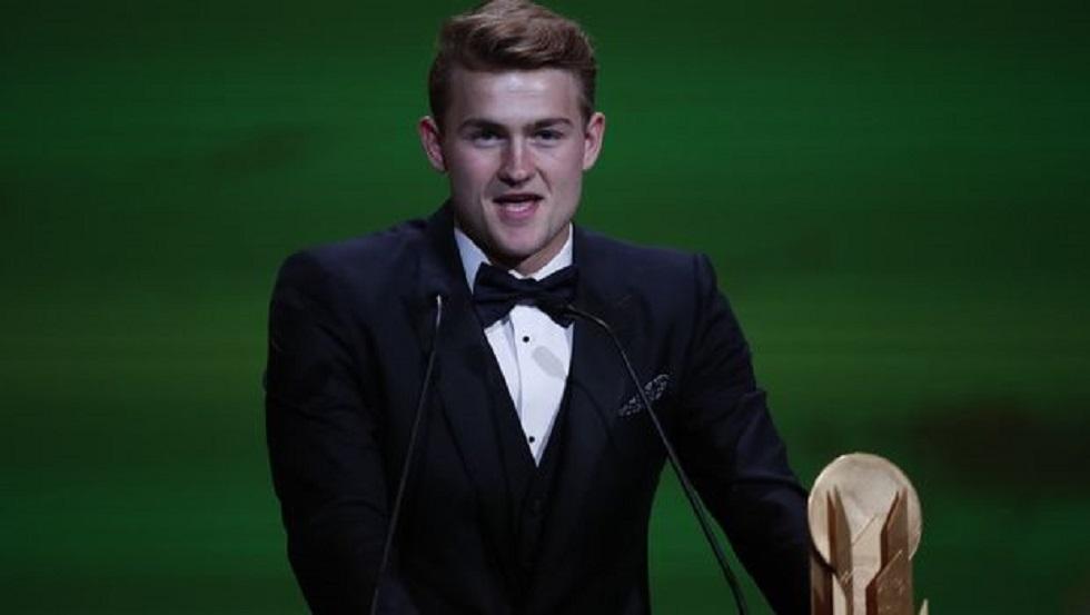 Χρυσή μπάλα 2019: Καλύτερος νέος παίκτης ο Ντε Λιχτ | to10.gr
