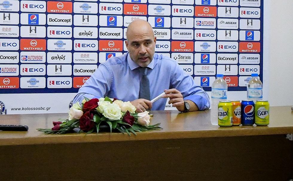 Λυκογιάννης: «Είδαμε το ματς με το Περιστέρι ως πρόκληση» | to10.gr