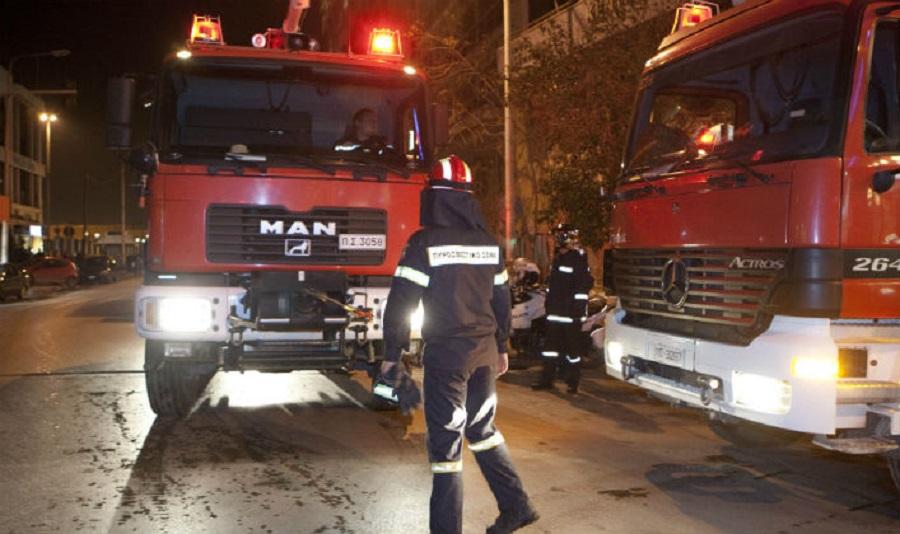 Βοτανικός: Πυρκαγιά σε εγκαταλελειμμένο κτίριο της Ιεράς Οδού | to10.gr