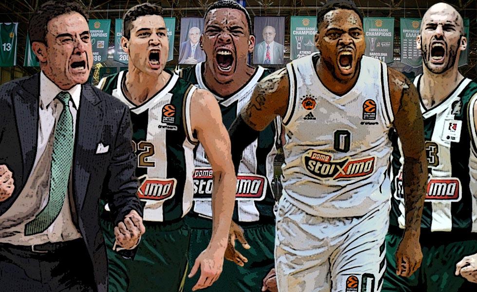 Ο Παναθηναϊκός πάει για ασύλληπτο ρεκόρ στην Basket League (vids) | to10.gr