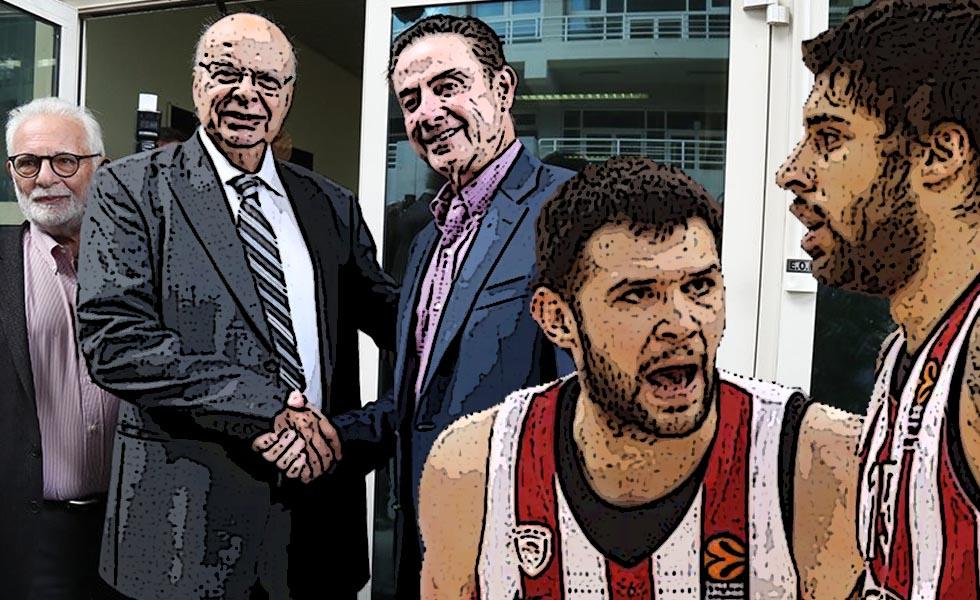 Βασιλακόπουλος: «Δεν έγραψαν οι παίκτες του Ολυμπιακού την επιστολή» | to10.gr