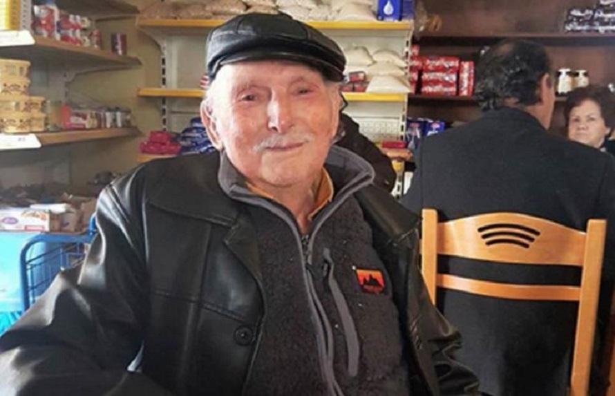 Κρήτη: Έκλεισε τα 100 και αποφάσισε να αποκαλύψει το μυστικό της μακροζωίας του! Ο παππούς που εντυπωσιάζει | to10.gr