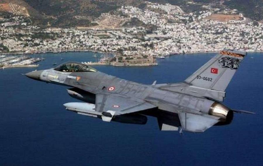Ρεκόρ υπερπτήσεων από τους Τούρκους στο Αιγαίο | to10.gr
