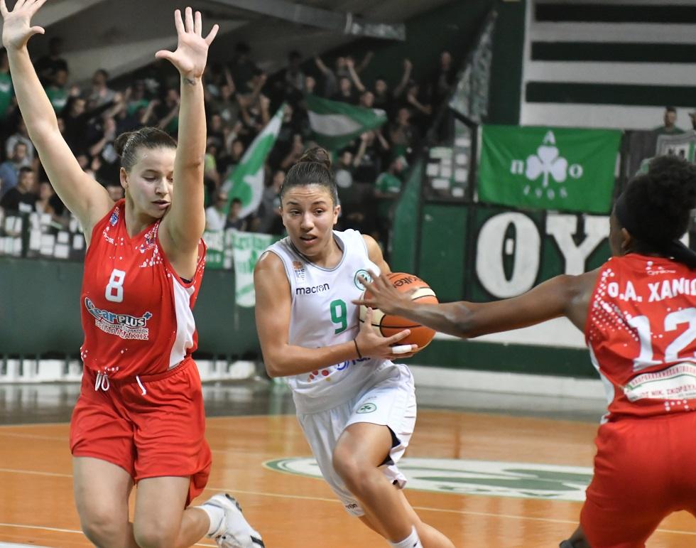 Α1 Γυναικών: Διπλά σε Πυλαία και Χανιά για Ολυμπιακό και Παναθηναϊκό   to10.gr