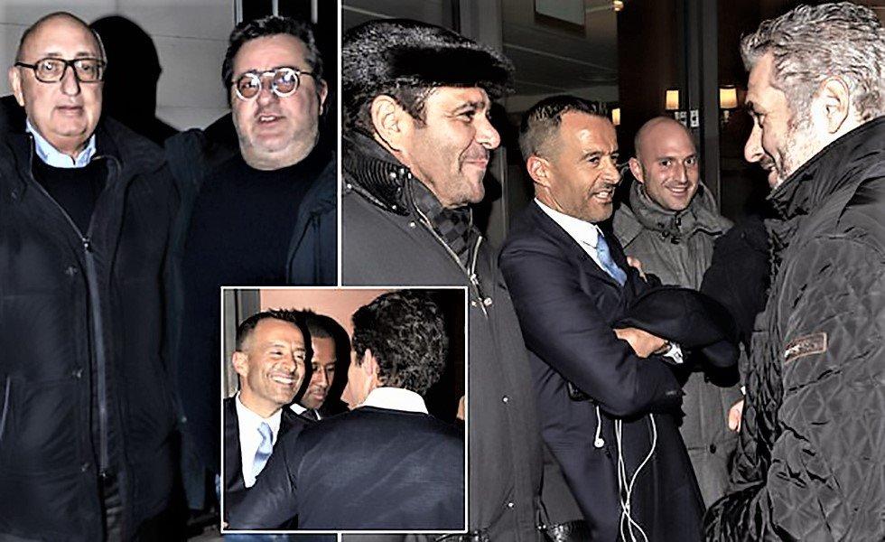Σπάνιες εικόνες: Μέντες, Ραϊόλα, Μάνασε, Μπαρνέτ και όλοι οι super agents σε ένα τραπέζι! | to10.gr