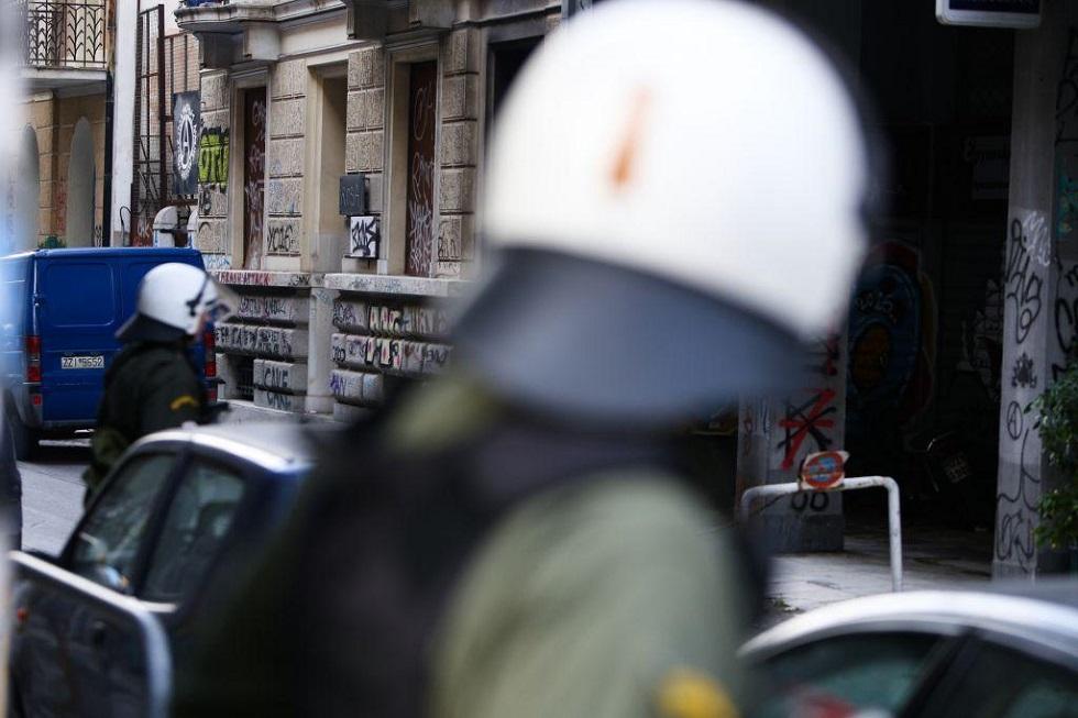 Εξάρχεια: Νέα αστυνομική επιχείρηση εκκένωσης κτιρίου | to10.gr