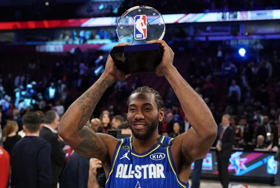 All Star Game: MVP ο Λέοναρντ και αφιέρωση στον Κόμπι Μπράιαντ (vid) | to10.gr