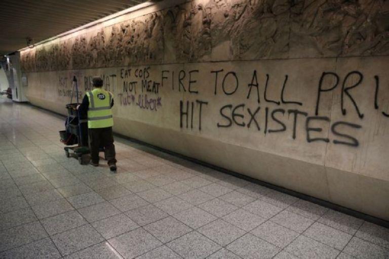 Βανδαλισμός στο μετρό Ακρόπολη: Ντροπιαστικές εικόνες – Καταστροφές σε αρχαία ευρήματα   to10.gr