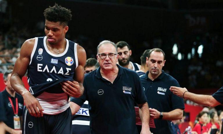 Σκουρτόπουλος: «Ο Γιάννης είναι ο άξονας πάνω στον οποίο θα γυρίζει η Εθνική» | to10.gr